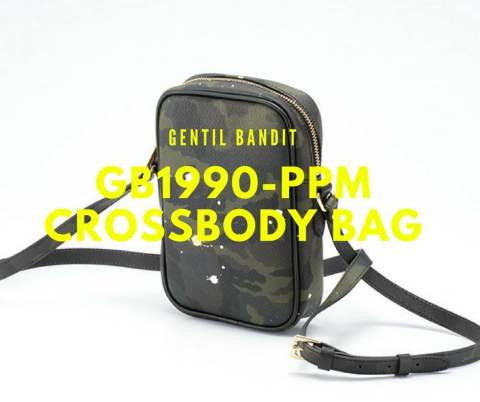 【GENTILBANDIT】 CROSSBODY BAG GB1990-PPM