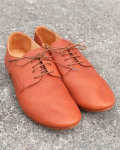 【Size41 残り1】 ダービーダンスシューズ FREDⅣ (BROWN)