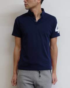 TFW49 - BD ポロシャツ/BD POLO (NAVY) T101910001