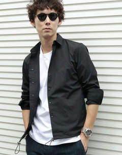 コーチシャツ / COACH SHIRTS (BLACK) 1061920007