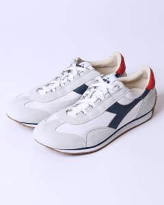 equipe h canvas stone wash (white/blue denim)