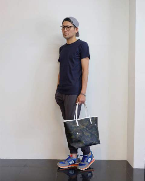 【junhashimoto】 TFW49 - SMT HANDSFREE GATHER PANTS スタイル